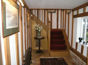 Stairs, The Barn Suite