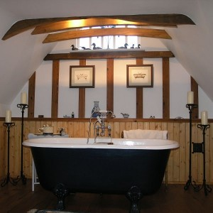 Bathroom, The Barn Suite